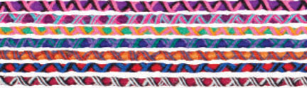 Cords come in a variety of colors